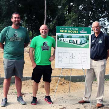 UMO's New Soccer and Tennis Field House under Construction