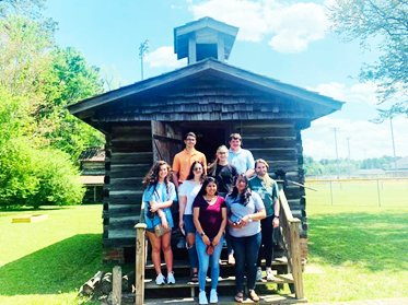 UMO Students Tour Duplin Historic Sites