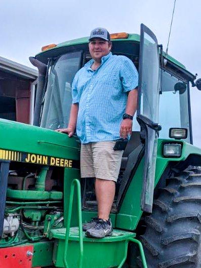 Princeton's Daniel Kornegay Talks about Life on the Farm