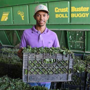 UMO's Ag Program Helps Students like Marcus Walton Gain Real-World Experience