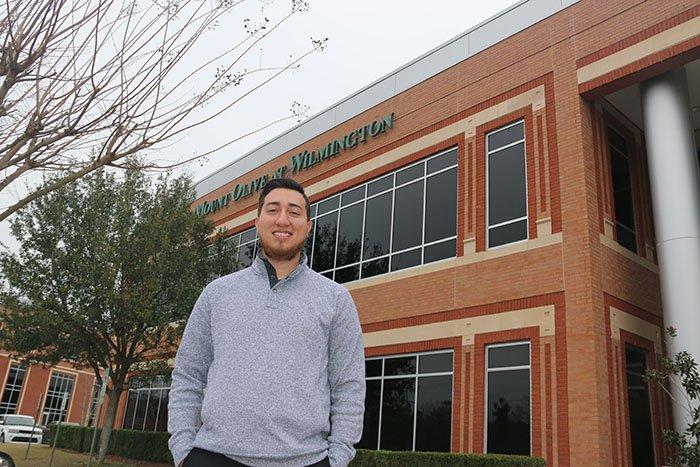 Past Experiences Push Anthony Hernandez toward Future Goals