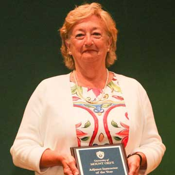 Rose Selected as University of Mount Olive Adjunct Instructor of the Year