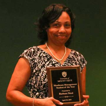 Johnston County Students Receive Awards at the University of Mount Olive
