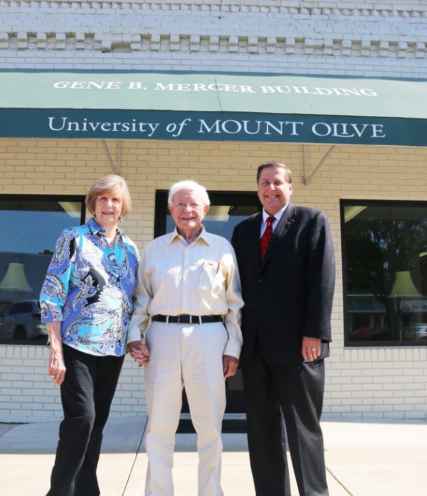 UMO's Offices Named in Memory of Former Mount Olive Businessman Gene B. Mercer