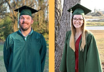 Hall and Boyette Receive Morris Awards for Academic Excellence at UMO