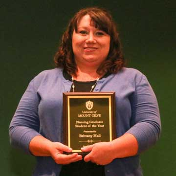 Orange County Student Receives Award at the University of Mount Olive