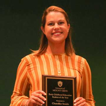 Sampson County Students Receive Awards at the University of Mount Olive