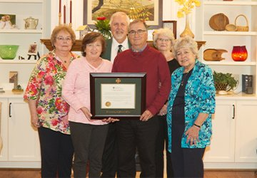 Howard and Sharlene Scott Honored with Endowment at UMO