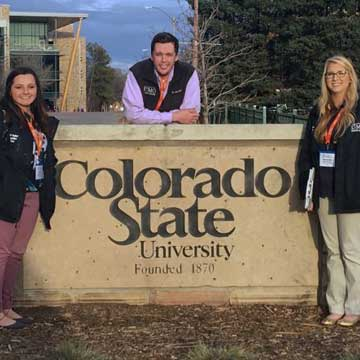 UMO Ag Students Compete in Landscape Competition