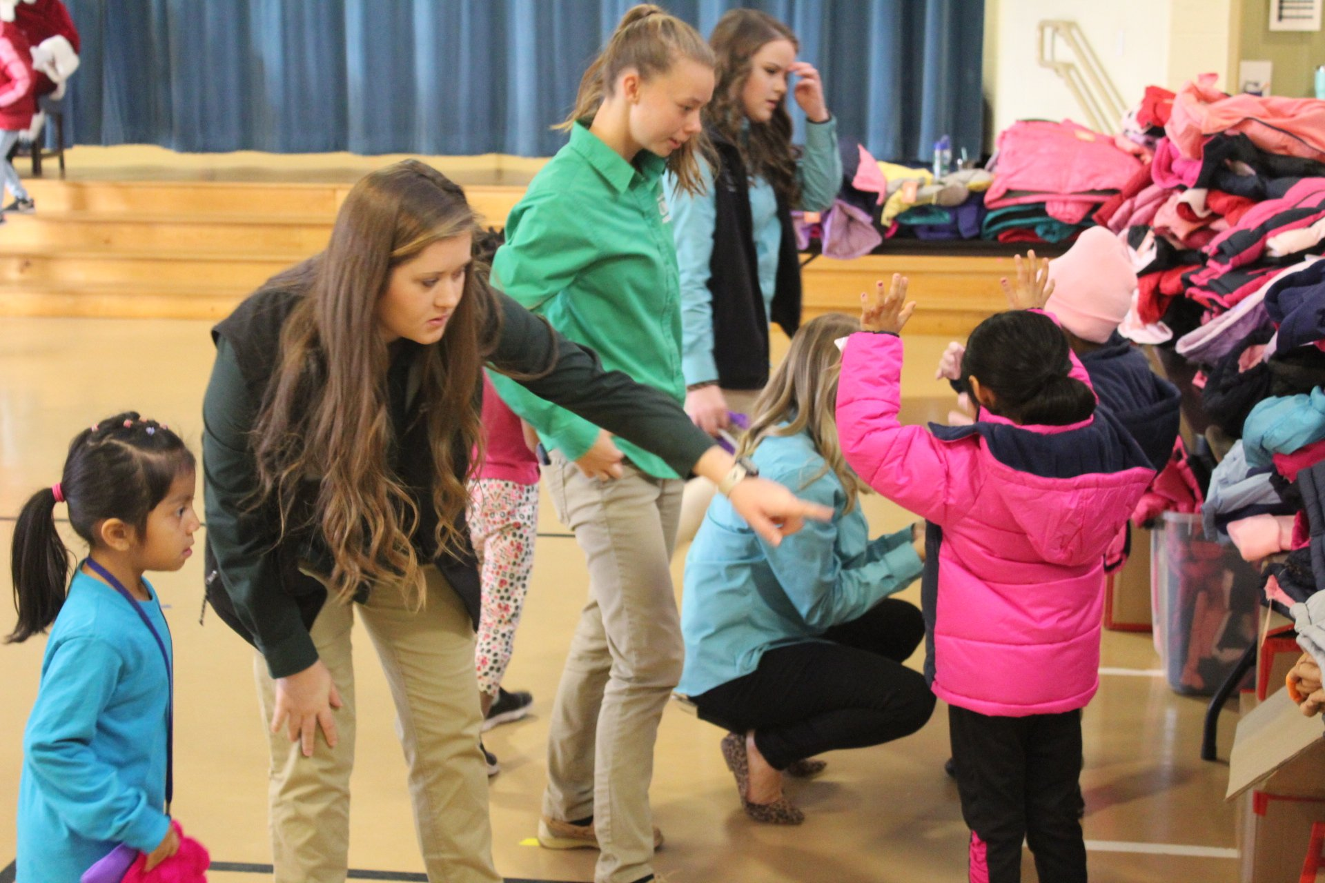 UMO Collegiate FFA Continues Annual Coats for Kids Project