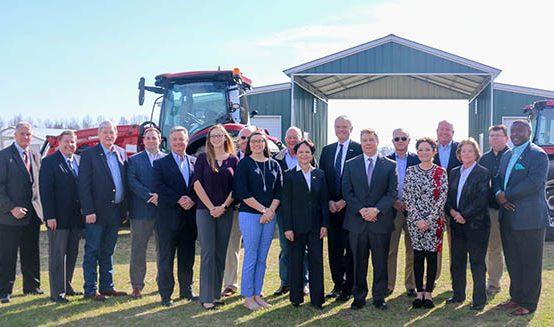 Golden LEAF Foundation Holds Agriculture Roundtable at UMO Student Farm